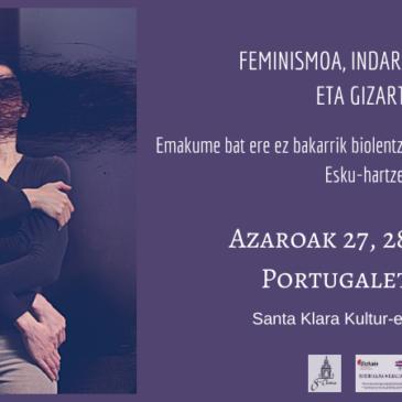 AMUGE Feminismoak, indarkeria matxistak eta gizarte eskuhartzearen II. kongresuan / AMUGE en el II Congreso Feminismos, violencias machistas e intervención social