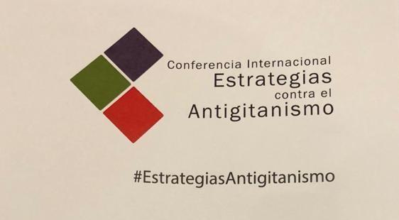 AMUGE anti-ijitotasunaren inguruko nazioarteko konferentzian / AMUGE en la Conferencia Internacional sobre Antigitanismo