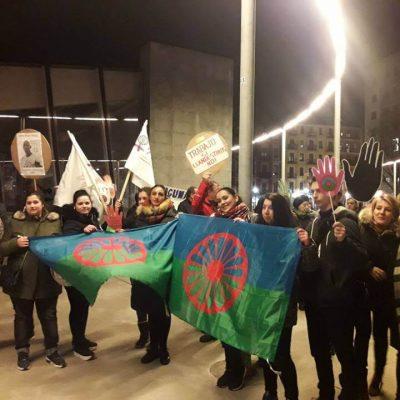 Manifestación SOS racismo