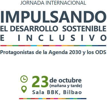Jornada: Impulsando el desarrollo sostenible e inclusivo: Protagonistas de la Agenda 2030 y los ODS